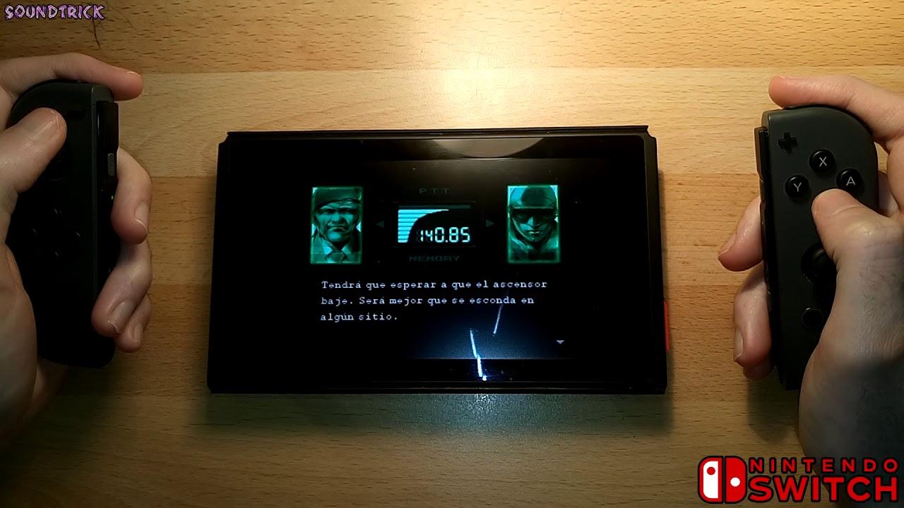 Metal Gear Solid on NINTENDO SWITCH ( RetroArch 1 7 5 )