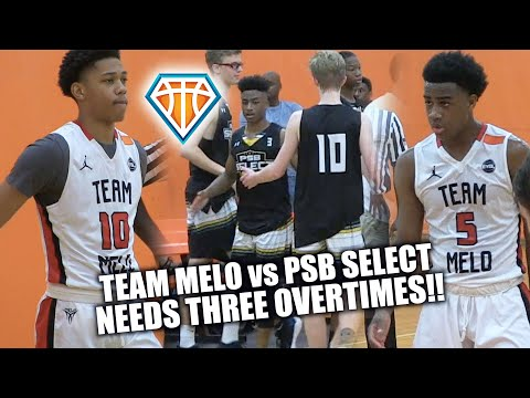 TRIPLE OVERTIME!! | Che Evans, Ryan Conway & Team Melo vs PSB Select at Southern Jam