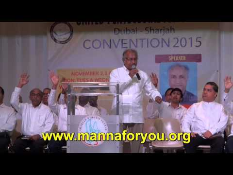 Pastor T D Babu, UPF Convention 2015, Day 1, November 2, 201