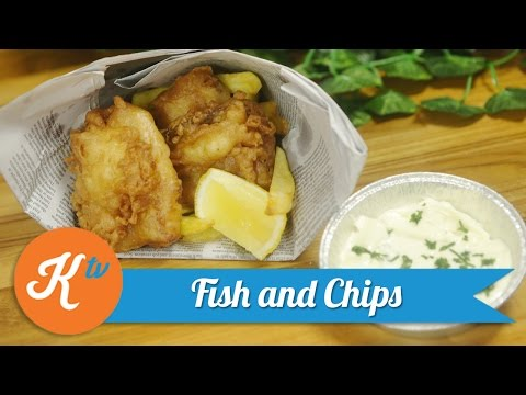 Resep Fish & Chips (Fish And Chips Recipe) | REVO