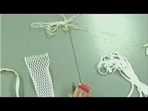 Lacrosse Equipment : How To String A Lacrosse Goalie Head