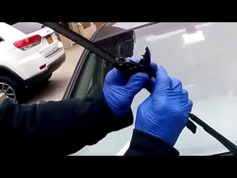HOW TO replace windshield wipers Toyota corolla