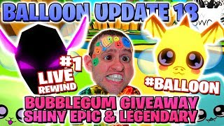 #1 riesigen BEACH PET GIVEAWAY 🌊 SHINY & LEGENDARY BUBBLEGUM UPDATE 18 | Ballon Wasser Ei 🔴 Roblox RW