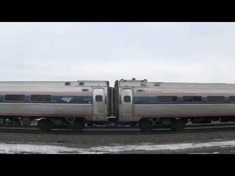 Amtrak Pennsylvanian train 43, 07T Cresson, PA 3 1 14