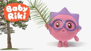 BabyRiki RO - Copilașii învață Copacii Din Pădure 🌳 Desene Animate Educative Pentru Copii