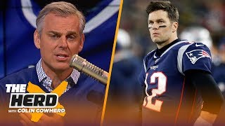 Colin thinks Brady will stay with Patriots, says Jordan Love is worth the risk | NFL | THE HERD