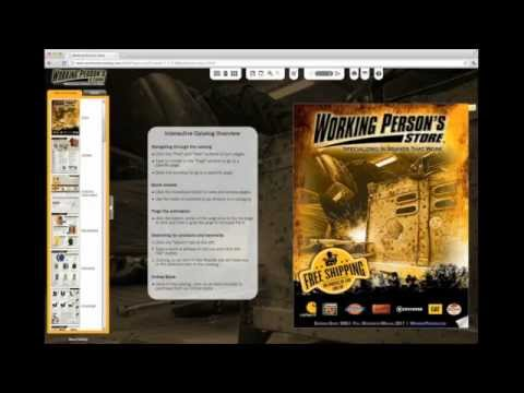 Working Person's Store 2012 Catalog Video