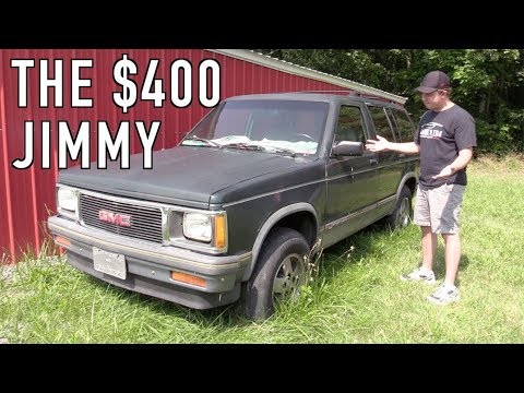 What Ever Happened To That $400 GMC Jimmy?