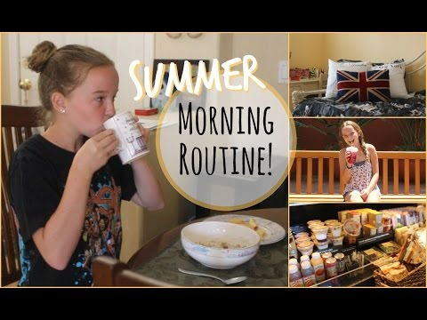 My Summer Morning Routine 2014 ☼