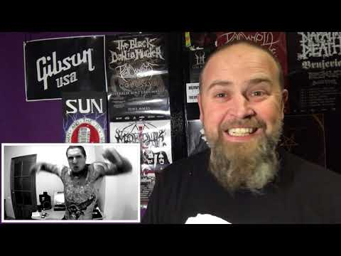 ALEX TERRIBLE - SUICIDE SILENCE ( BLUDGEONED TO DEATH COVER)- RUSSIAN HATE PROJECT- REACTION!!!!