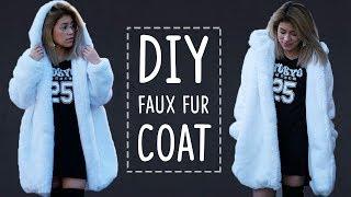 DIY FAUX FUR COAT | sew&tell