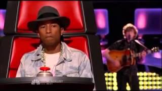 "Matt McAndrew ""A Thousand Years"" The Voice USA Season 7 Episode 5"