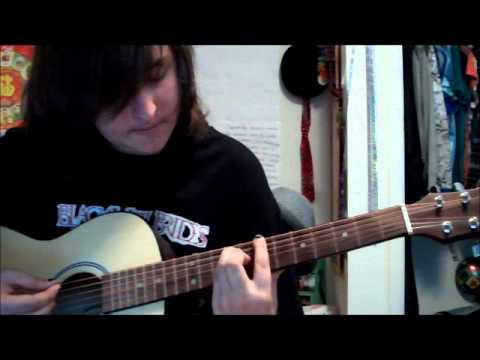 How to play the morticians daughter by Black veil brides on guitar