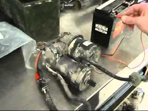 air ride wiring diagram john deere 445 2005 deville electronic level control (air) - youtube
