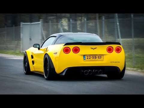 Corvette C6 Z06 - Revs, Accelerations & Exhaust SOUNDS!