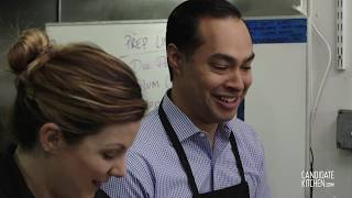 Julian Castro Makes His Favorite Breakfast Tacos.
