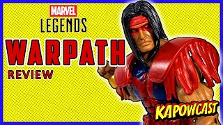 MARVEL LEGENDS WARPATH REVIEW | STRONG GUY BAF WAVE