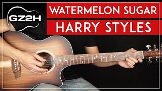 Watermelon Sugar Guitar Tut๐rial 🍉 Harry Styles Guitar Lesson |Easy Chords + No Capo|