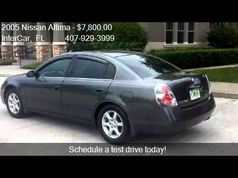 2005 nissan altima 2 5 s for sale in orlando fl 32807 youtube. Black Bedroom Furniture Sets. Home Design Ideas