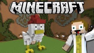 [GEJMR] Minecraft - BuildBattle - Stan, Portál, Slepice!