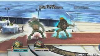 Teenage Mutant Ninja Turtles: Smash-Up - [Arcade Mode - HD] - Shell Shocked! - Michelangelo [1/3]