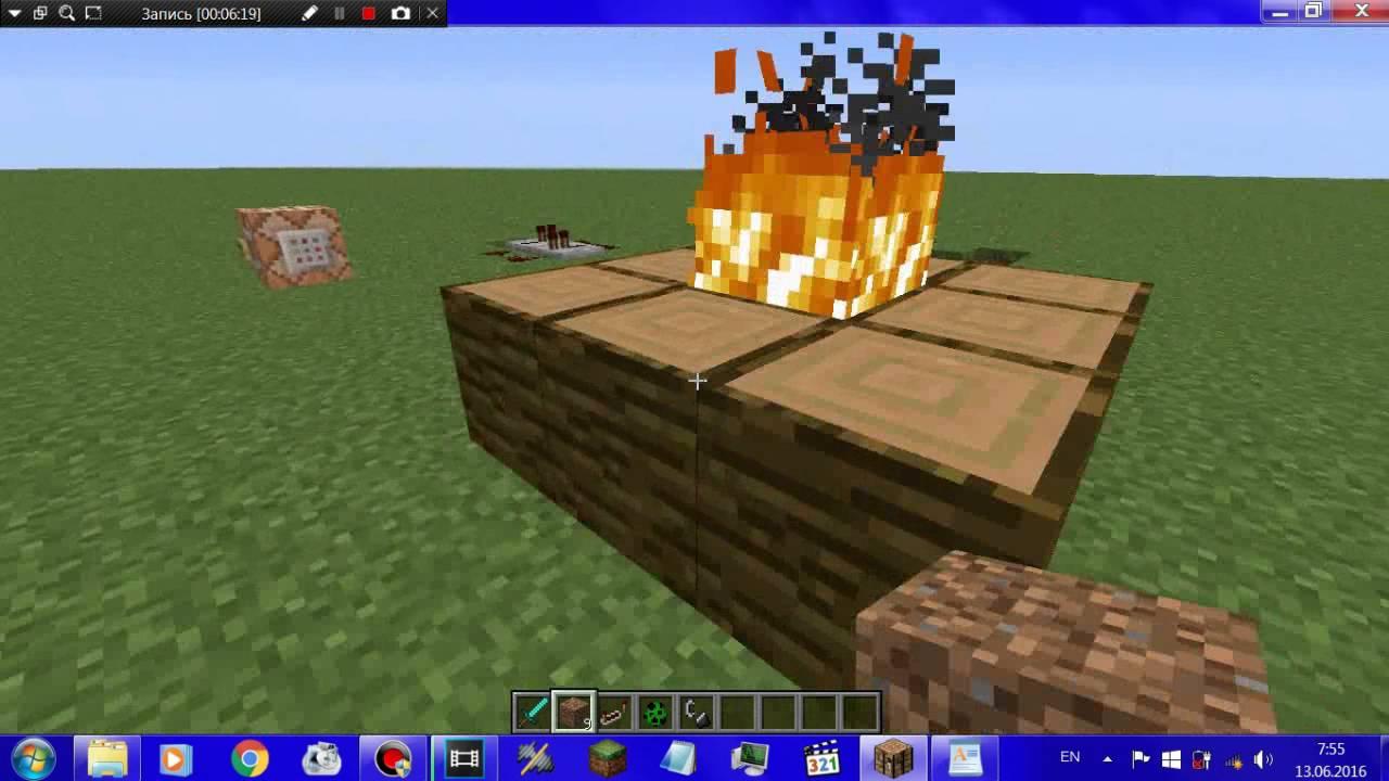 Майнкрафт команда чтобы криперы не взрывали блоки
