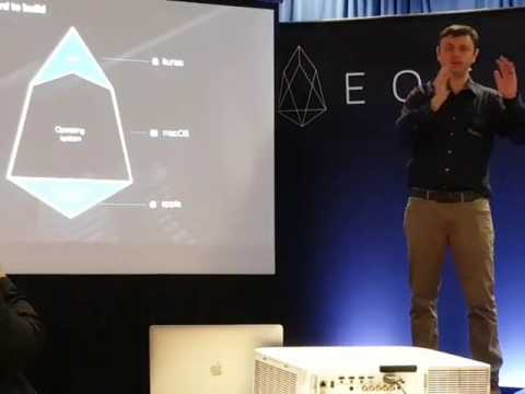EOS Talk by Dan Larimer at Consensus 2017 in New York, NY