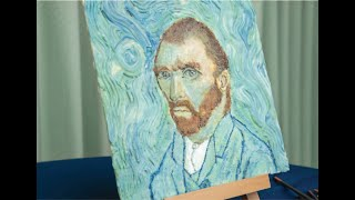 Unbelievable Choc Paint!! Self portrait of Van Gogh?!