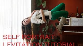 levitation tutorial   self portrait