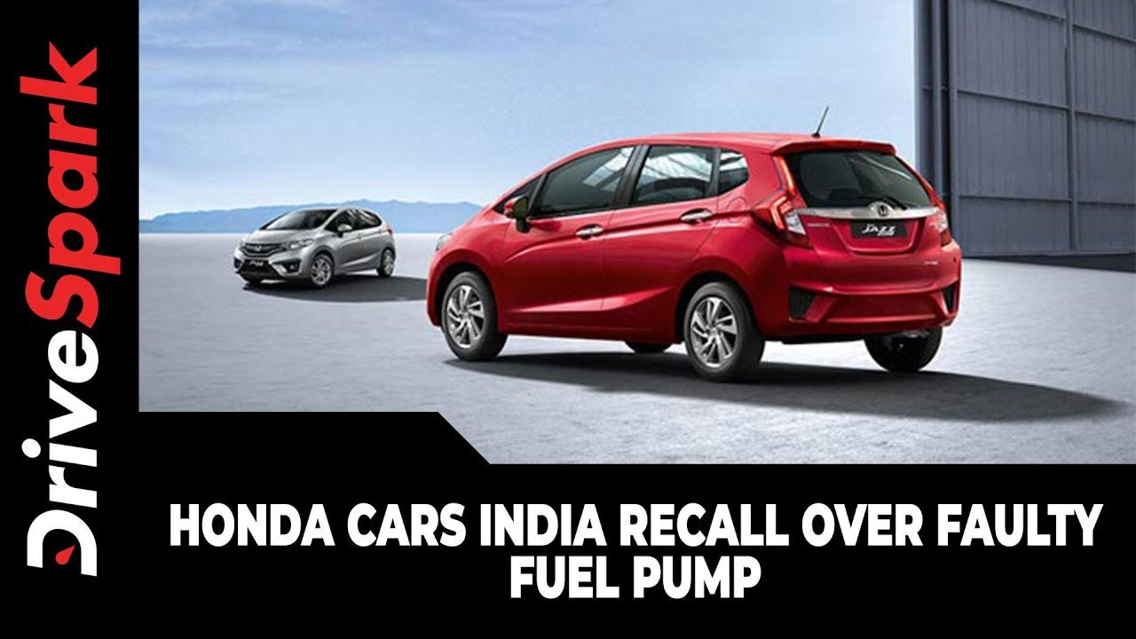 Honda India Recalls Due To Fuel Line Problems