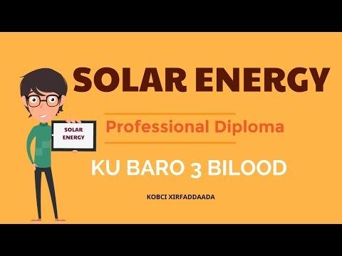 Solar Energy Professional Diploma | Somalia