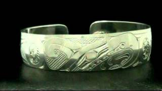 Thunderbird bracelet Northwest Coast Native American Indian art