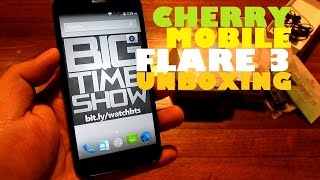 "Cherry Mobile Flare 3 Unboxing (Unscripted) - Upgraded Spec Quad-Core 5"" Phablet For Only PHP 3,999!"