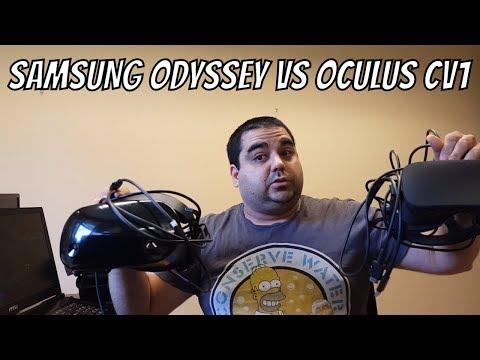 SAMSUNG ODYSSEY VS OCULUS RIFT CV1... 6 MESES DESPUES...