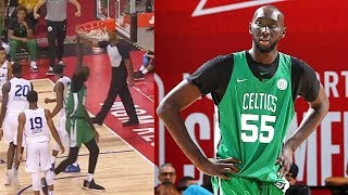 Tacko Fall Is A GIANT Among NBA Players In Debut With Celtics! 2019 NBA Summer League