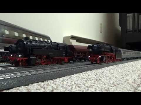 Testing Sounds and Operating The Marklin BR 23 and BR 95