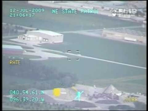 Patrol helicopter tapes illegal street race