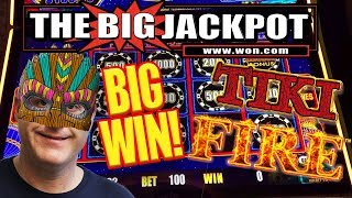 I ♥️ TIKI FIRE!! BIG WIN ON LIGHTNING LINK ⚡ FEATURE ROUND!
