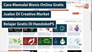 Cara Memulai Bisnis Online Di Creative Market Untuk Pemula ( Kerja Sampingan Anak Muda )