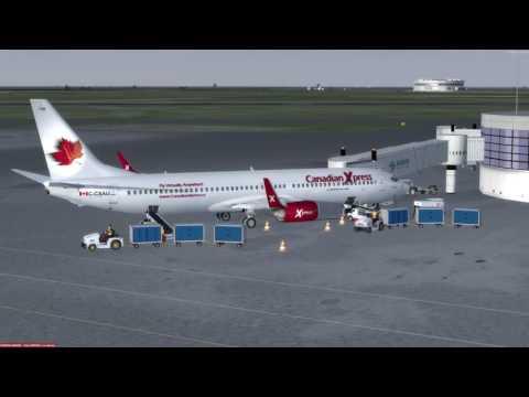 Boeing 737-900 Saskatoon (CYXE) to Boston (KBOS) P3D v3.4
