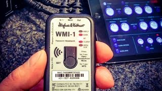 The Hughes & Kettner WMI-1 wireless MIDI guitar amp interface - new for musikmesse 2015