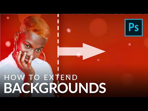 How To Extend Backgrounds In Photoshop