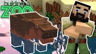 I'm Building A Zoo In Minecraft! - Hippo Exhibit! - EP04