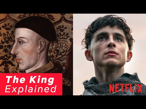 The Real Story Behind Timothée Chalamet's Henry V | The King | Netflix