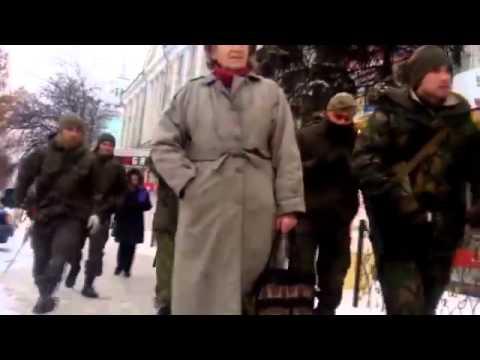 Ukraine War   Russia Special Forces Luhansk Ukraine with AS 'Val' Machine Guns