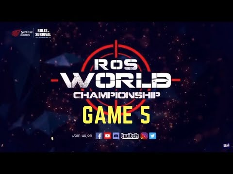 Rules of Survival TOURNAMENT (Last Game) at Shanghai