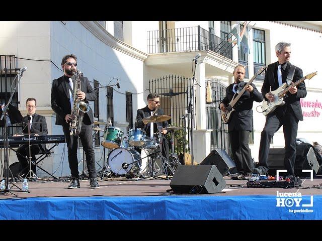 VÍDEO: El ciclo 'Cultura sin' seguía hoy con la actuación de 'Crash4Jazz' en la Plaza de San Miguel