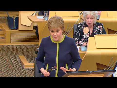 First Minister's Questions - 19 April 2018