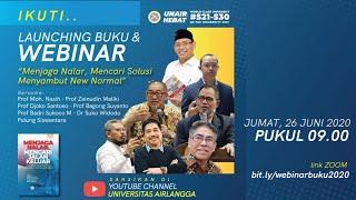 Webinar : Launching Buku Menjaga Nalar