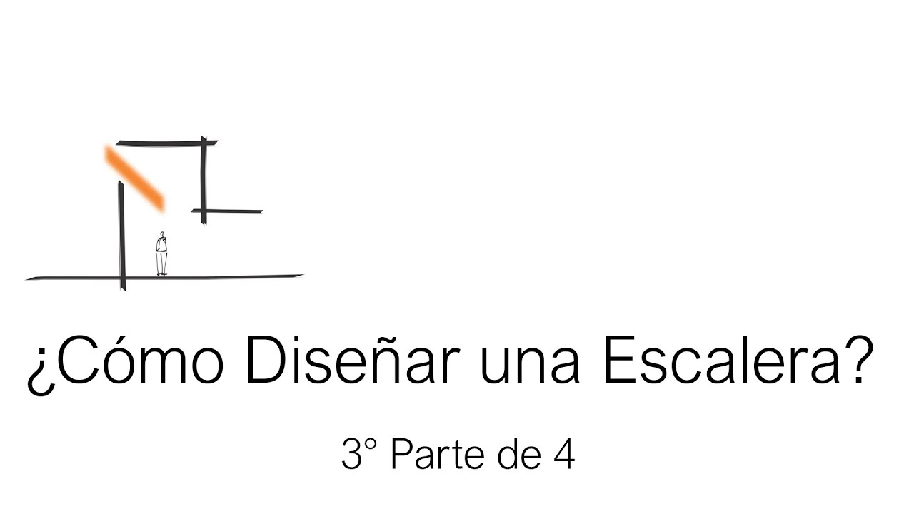 C mo dise ar una escalera video 3 de 4 youtube for Como trazar una escalera de caracol de concreto